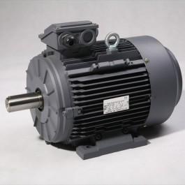 Moteur triphasé IE3 5,5kW 3000 tr/min Hauteur d'axe 132mm
