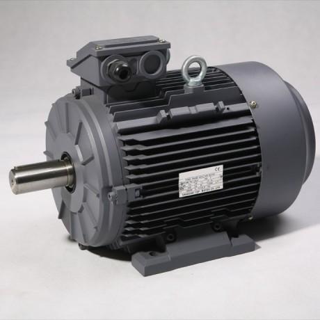 Moteur triphasé IE3 5,5kW 1500 tr/min Hauteur d'axe 132mm