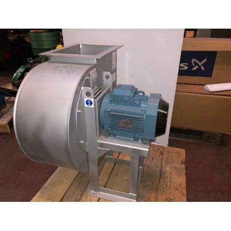 Ventilateur centrifuge Euroventilatori Type BPR 351/B 3 KW 1430T chassis taboure