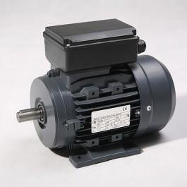 Moteur monophasé 0,75kW 1500 tr/min Hauteur d'axe 080mm